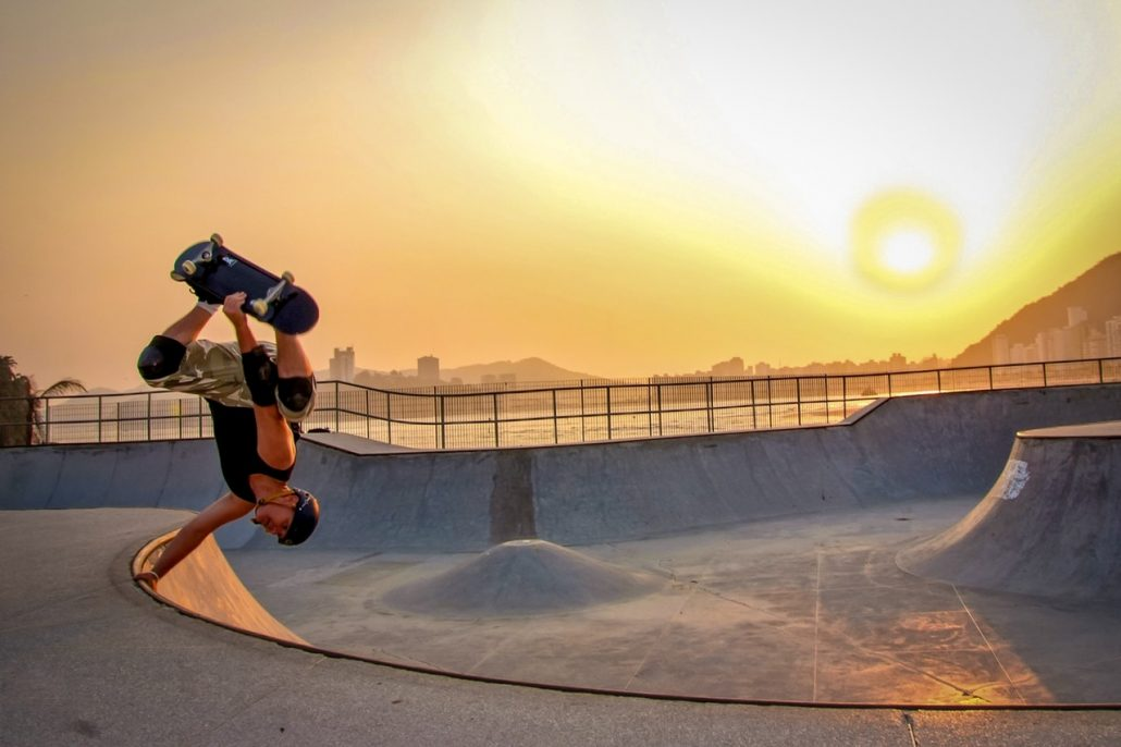 Ripclear skateboarding sunglass lens protection